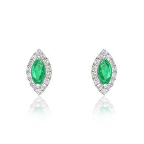 db3185db9b63d Brincos Esmeraldas Navetes E Diamantes - Joias e Relógios no Mercado ...