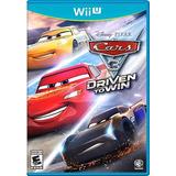 Juego Digital Wii U Cars 3 Driven To Win Somos Tienda