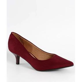 bb39b40c9 Sapato Scarpin Feminino Vizzano Bordo Mulher - Sapatos no Mercado ...