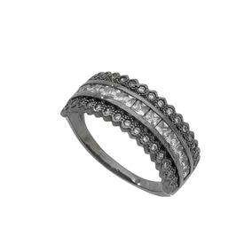 Meia Alianca Zirconia Negra - Anéis com o melhor preço no Mercado ... ba8b46b5f8