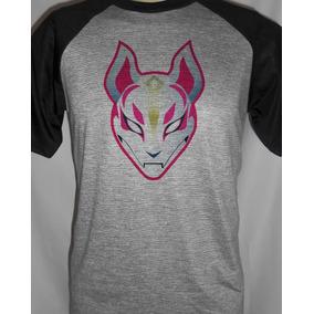 Camiseta Raglan Personalizada Fortnite Drifter d6fed013918af