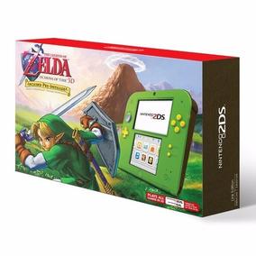 Nintendo 2ds Link Edition Zelda Ocarina Of Time 3d Lacrado
