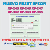 Reset Epson Xp-243 Xp-245 Xp-247 Xp-342 Xp-343 Xp-345 Xp-442
