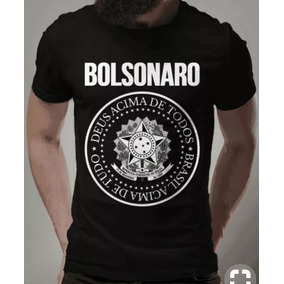 Camisa Camiseta Blusa Bolsonaro Presidente Deus Acima