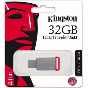 Kit 5 Pen Drive 32gb Kingston Datatraveler 50 Usb - Dt50