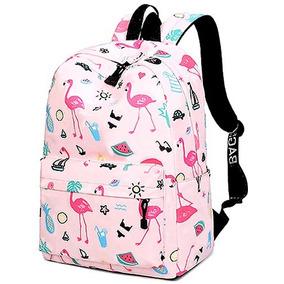 Mochila Estampa Flamingo Mochilas Femininas 2019 Escolar 300542753c077