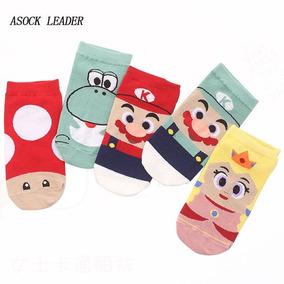 Calcetas Calcetines Mario Bros Fotos Reales