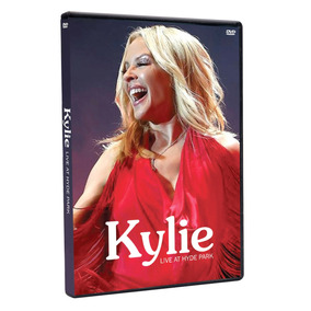 Dvd Kylie Minogue Live From Hyde Park 2018