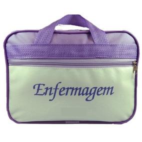 Bolsa De Enfermagem - Nylon Ou Transparente + Caneta Osso