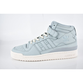 Tenis adidas Originals Forum Mid Refined Blue Leather