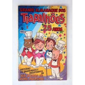 Almanaque Dos Trapalhões N.1 - Abril- 1991 - F( 1304)