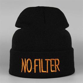 Touca Gorro No Filter   Sem Filtro Tumblr Outono inverno ccb01016f67