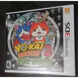 Juego Yokai Yo-kai Watch 2 Bony Spirit Nintendo 3ds 2ds
