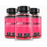 Biocaps 3 Frascos - Emagreça Agora Superior Ao Alfacaps