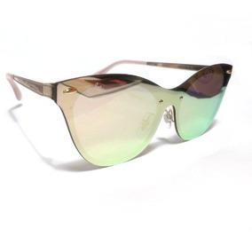 122331d51de09 Oculos De Sol Espelhado Rosa Gatinho Vintage - Óculos no Mercado ...