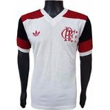 ae5ecfb1e8 Camisa Retrô Flamengo Manga Longa - Camisa Flamengo Masculina no ...