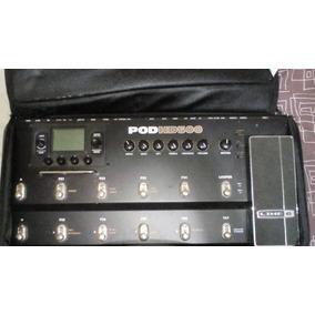 Pedalera Guitarra Pod Hd 500 Line 6 Con Case
