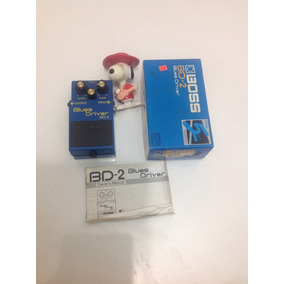 Pedal De Guitarra Boss Blues Driver