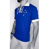 Camisa Polo Cruzeiro - Camisa Cruzeiro Masculina no Mercado Livre Brasil 7da2e1db44c00