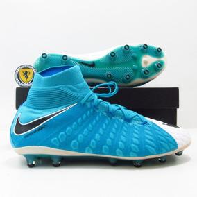 2f5f67581e Chuteira Nike Hypervenom.branca E Azul - Chuteiras no Mercado Livre ...