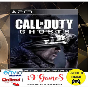 Jogo Ps3 Call Of Duty Ghosts Gold Psn Play 3 Digital Imediat