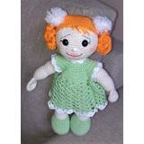 c96cc3c470f53 Boneca Pompom Em Croche - Amigurumi Artesanato Feito A Mão