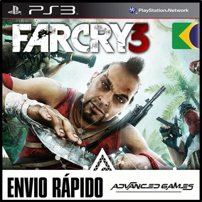 Far Cry 3 Leg Portugues - Jogos Ps3 Midia Digital