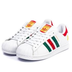 a7672a479b2 Adidas Superstar Holografico - Tênis Verde no Mercado Livre Brasil
