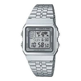 Reloj Casio Vintage A500 Plata