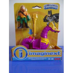 Kit Imaginext Dc Super Friends Aquaman, Tornado, Darkseid &