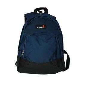 Mochila Backpack Xtreme Campus Azul Nylon Original + Envio a83701cc28b