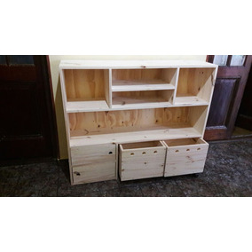 Mueble Organizador Infantil Sin Pintar