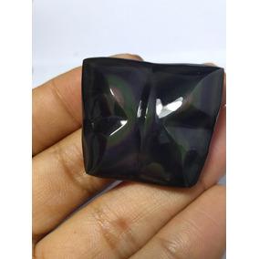 Cabochão De Obsidiana Arco-iris 64,0 Cts J547
