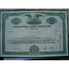 Apolice - International Book Corporation - Ano 1966