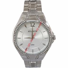 51507b636e2 Relógio Atlantis Feminino Prateado. - Joias e Relógios no Mercado ...