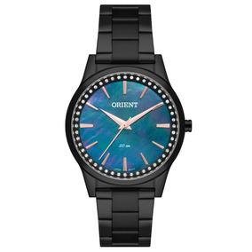5145e7f8dd0 Relogio Orient Dourado Madreperola Swarovski - Relógios no Mercado ...