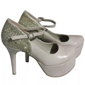 7737530d Zapato De Mujer Cerrado Taco Alto - Zapatos Dorado oscuro en Mercado ...