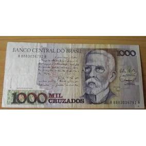 Notas Antigas De 1000 E 500 Cruzados