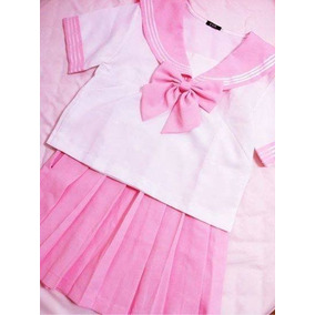 Seifuku - Uniforme Japonês Rosa 125c9a37fa26