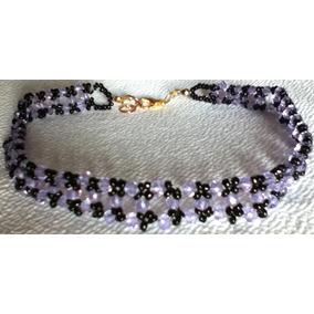 67f99c18078d Collar Gargantilla Choker Cristales Elegante Gótico Casual