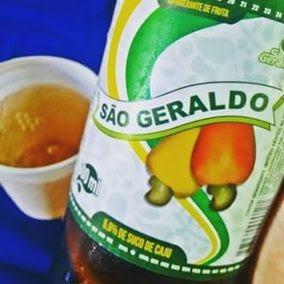 Refrigerante De Caju Cajuina Sao Geraldo Fardo C/6un 2l Cada