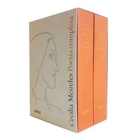 Box Livro Cecília De Meireles Poesia Completa - Capa Dura