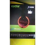 Audifonos Ewtto Bluetooth Mp3 Call Phone Card Reader