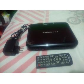 Dvd Portátil Powerpack 7328.tv+usb+sd Card+divx+jogos+tela 7