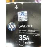 Toner Original Hp Cb435a Laserjet P1005 P1006 35a Negro