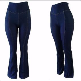 Kit 4 Calça Cotton Flare Jeans Ideal Gravida E Gestante