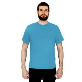 Camiseta Dry Fit 100% Poliamida Malha Fria Corrida Masculina