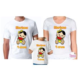 cf2010215 Conjunto Da Moranguinho Baby Com Nome E A Idade - Camisetas e Blusas ...