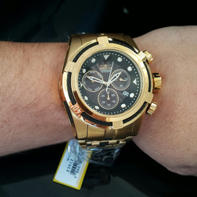 cd42c7b6e1e Relogio Invicta Serie Ouro Zeus De Luxo - Relógios De Pulso no ...