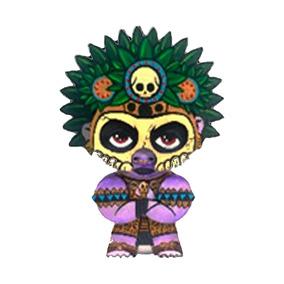 Figura Artesanal 10 Cm Dios Huitzilopochtli Neografika
